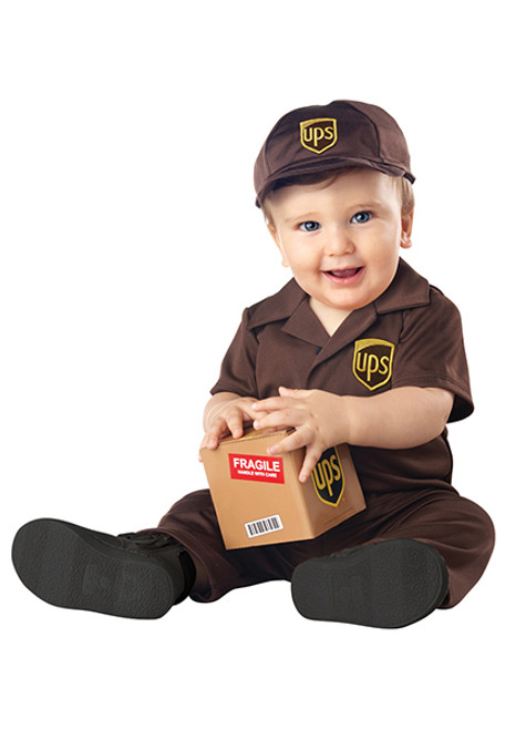Toddler UPS Costume