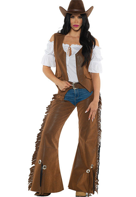 Adults Purple Wild West Cowboys Cowgirls Party Fancy Dress Costume Outfit Hat