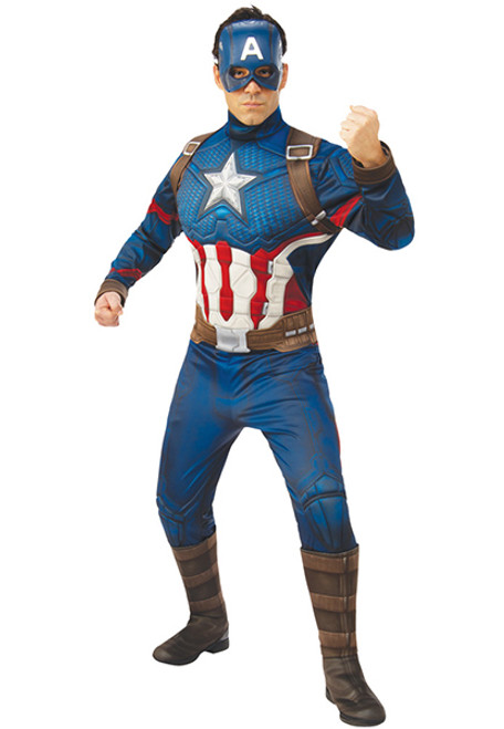 Boys Captain America THE WINTER SOLDIER Halloween Costume Retro 4 6 7 8 Med NEW