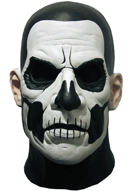 Black and White Kiss of Death Adult Costume Mask