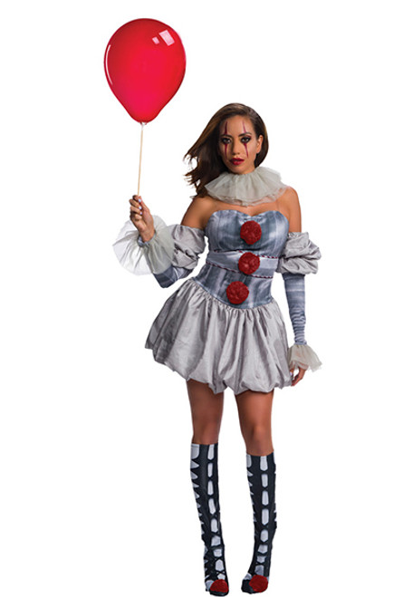 Clown Halloween Costumes For Adults