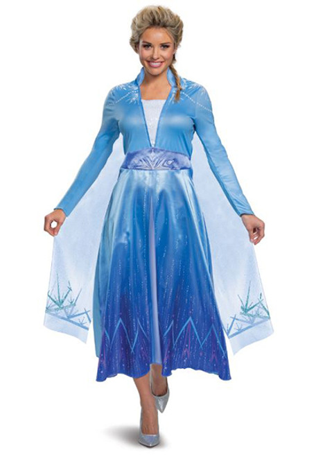 Adult Disney Frozen II Elsa Costume