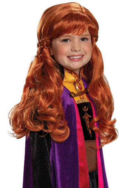 Child Disney Frozen 2 Anna Wig