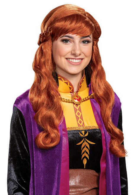 Adult Disney Frozen II Anna Wig