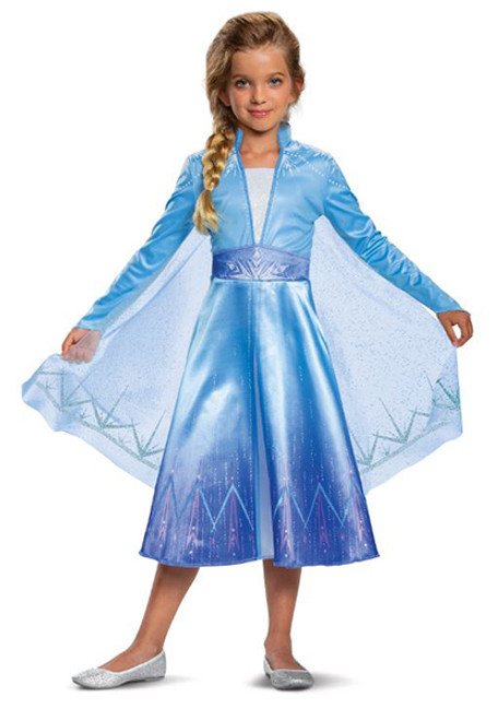 Child's Frozen II Elsa Deluxe Costume