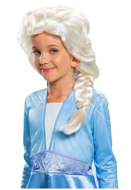 Child Disney Frozen II Elsa Wig