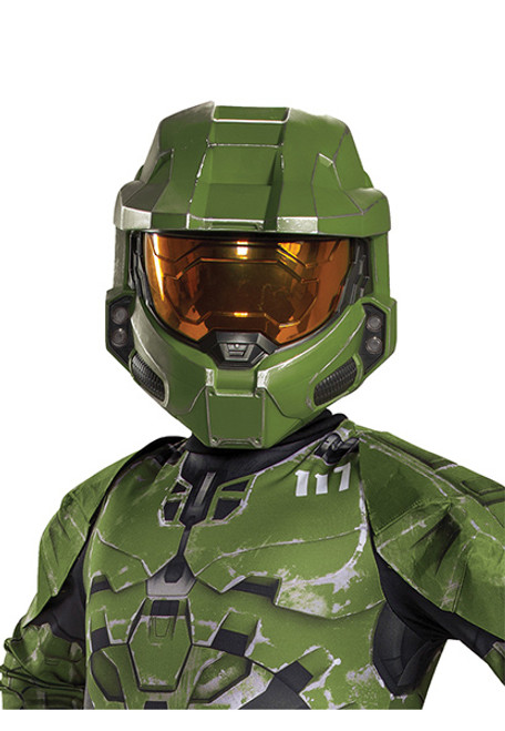 Child Size Video Game Inspired Soft Boot Covers Kids Costume Footwear Accessory Halo Infinite Master Chief Boots