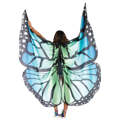 Adult Light Up Bug Ant Alien Fly Butterfly Moth White Antennae Costume Accessory