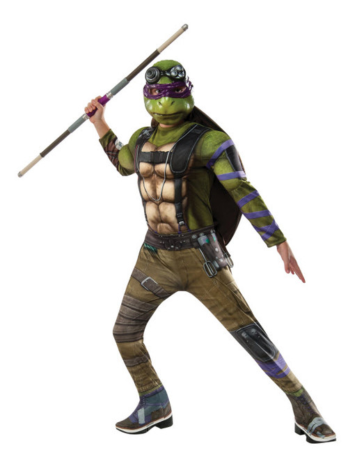 Boy's TMNT2 Donatello Deluxe Costume