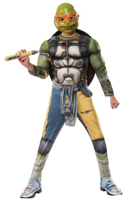 Boy's TMNT2 Michelangelo Costume