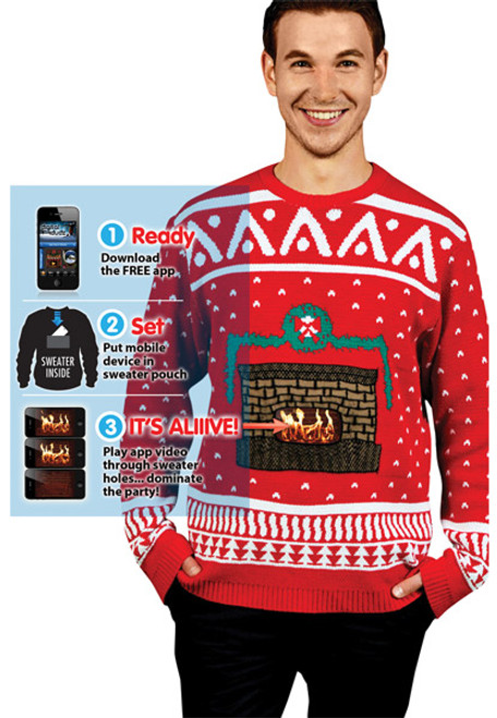 new style aecfc d0bc0 Ugly Christmas Sweaters and Shirts for Adults