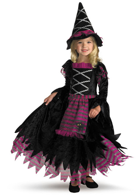 Girl s Fairytale Witch Costume 18f1b16828cb