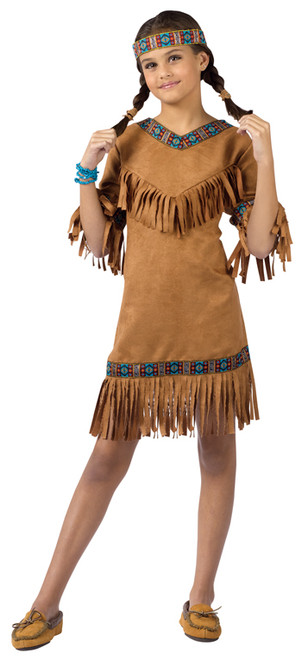 a9763cd40bb American Indian Girl Costume