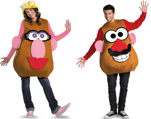 Adult Mr. or Mrs. Potato Head Costume 2272f6b6edd4