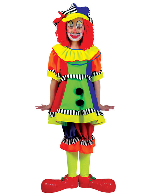 Clown Halloween Costumes For Kids