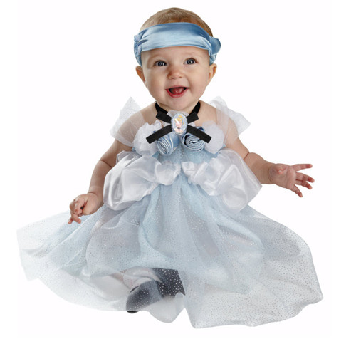 Disney Store Deluxe Cinderella Costume For Baby Toddler 2t: Infant Cinderella Costume