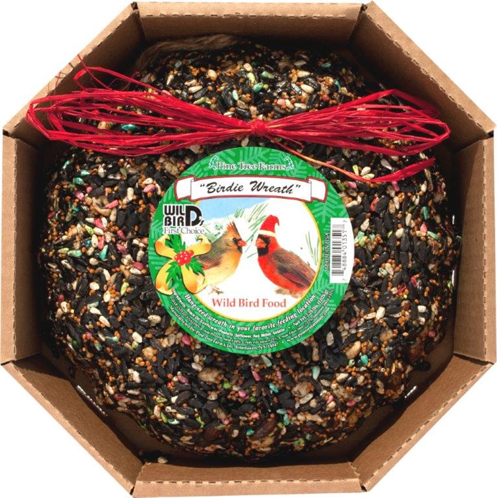 PTF Holiday Birdie Wreath