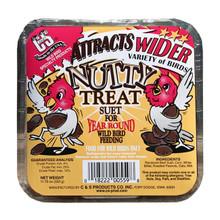 Nutty Treat Suet for Wild Birds