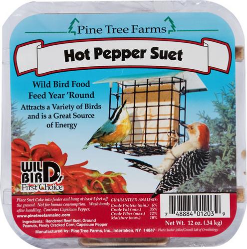 Hot Pepper Suet