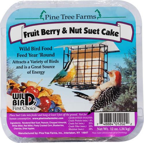 Fruit & Nut Suet Cake