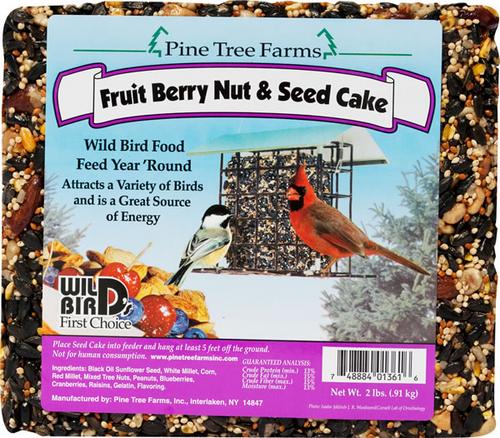 Fruit Berry Nut & Seed Cake