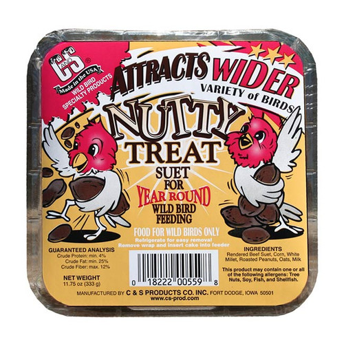Nutty Treat Suet for Wild Birds