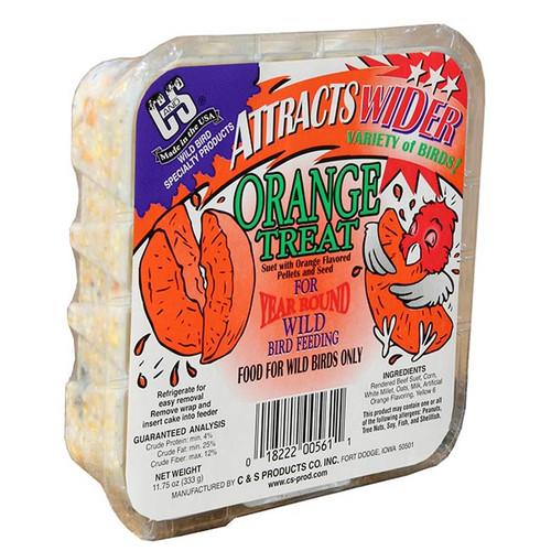 Orange Treat Wild Bird Suet