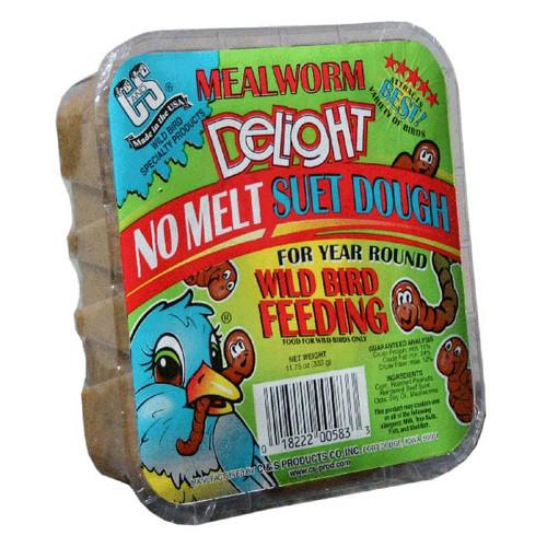Mealworm Delight No Melt Suet Dough