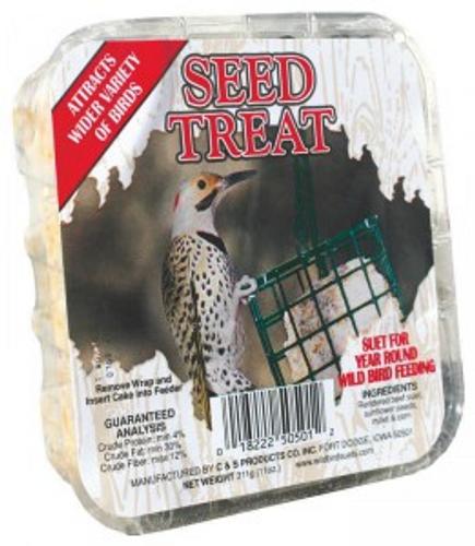 Seed Treat Suet for Wild Birds