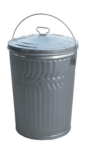 Galvanized Seed Storage Can w/ Lid - 20 Gal
