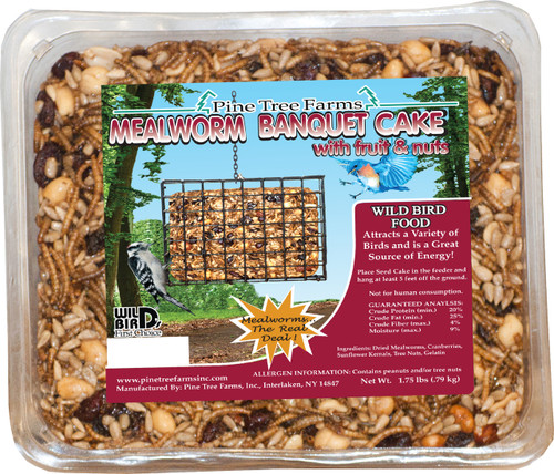 Mealworm Seed Cake - Large