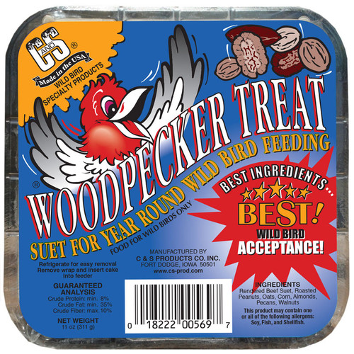 Woodpecker Treat Suet Treat