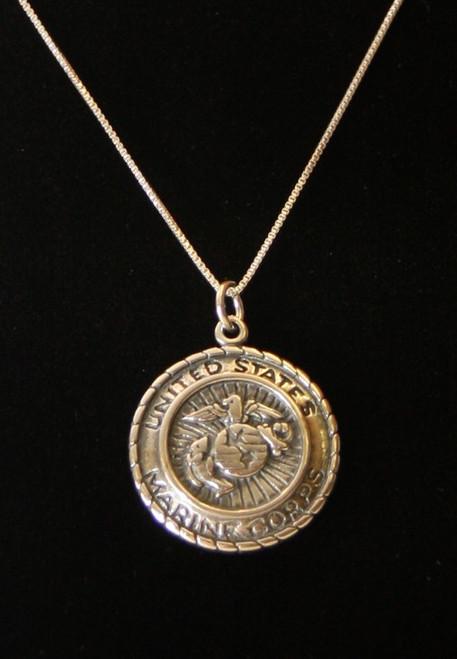 USMC Medallion necklace