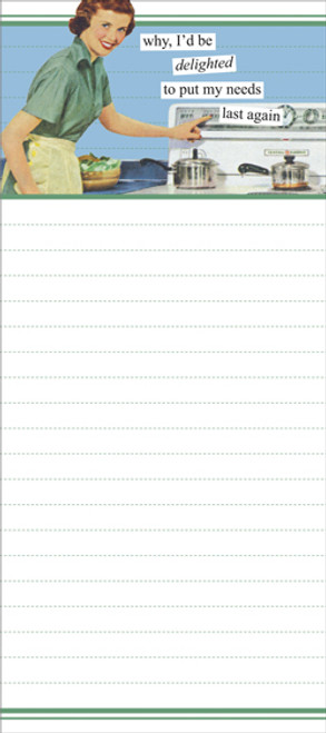 Delighted Notepad
