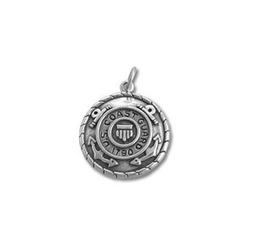 US Coast Guard Medallion necklace