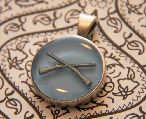 US Army Infantry necklace