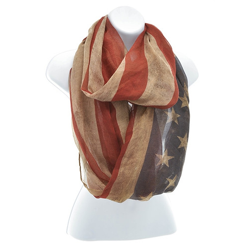 The Star Spangled Infinity Scarf