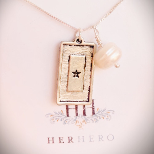 Bring Him Home Service Flag Necklace