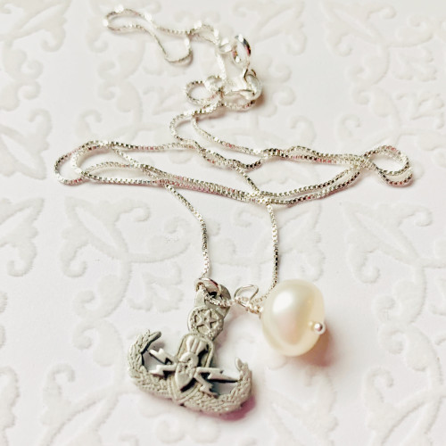Charmed EOD Pearl Necklace
