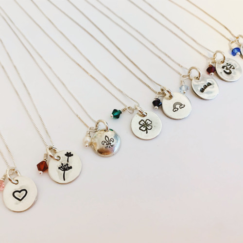 Personalized Good JuJu Charm Necklace