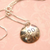 EOD Sweetheart Domed Coin - Sterling Silver