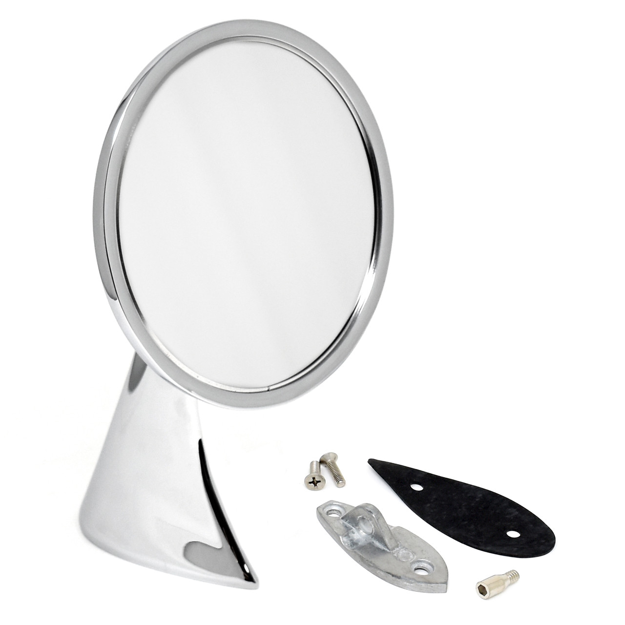 eClassics 1963-1967 Chevrolet Corvette Outside Mirror Assembly With Bowtie