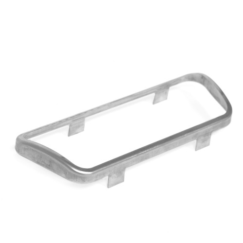 eClassics 1966-1970 Ford Falcon Brake Pedal Stainless Steel Trim Disc Auto
