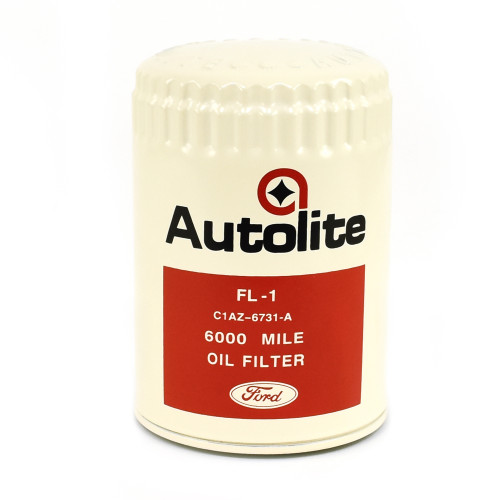 eClassics 1967 Ford Bronco Oil Filter Autolite FL-1 6000 Mile