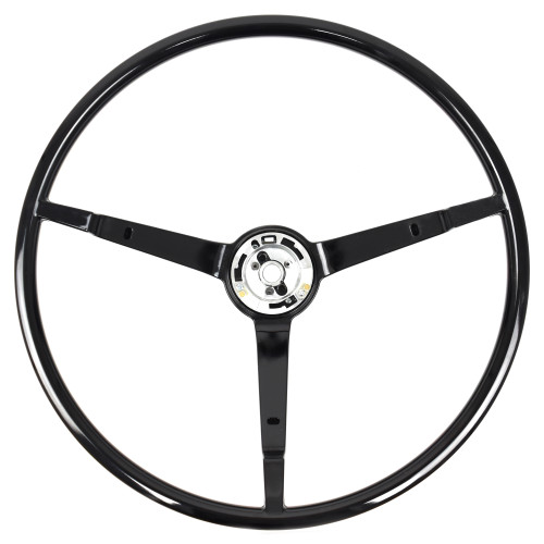 eClassics 1965-1966 Ford Mustang Steering Wheel 3-Spoke Black