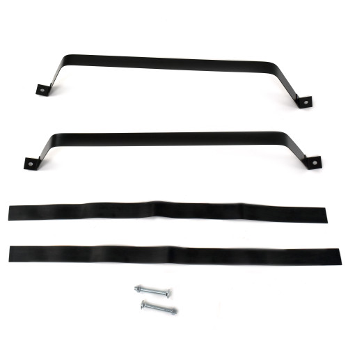eClassics 1949-1952 Chevrolet Fleetline Fuel Tank Straps Black Pair