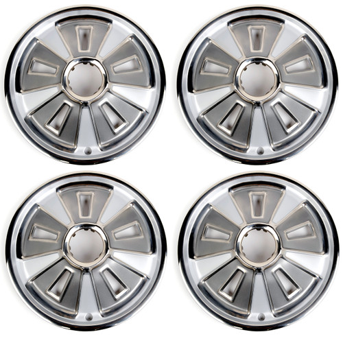 ACP FM-BH016 1966 Ford Mustang Wheel Cover 14 Inch Without Center Cap 4 Piece Set
