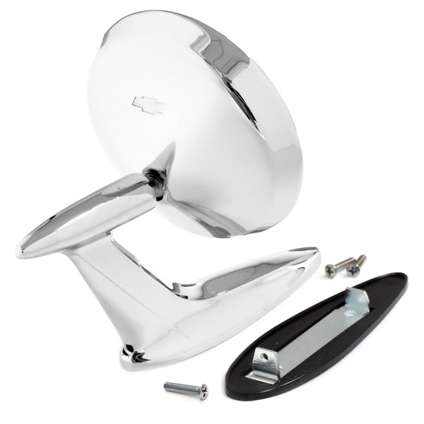 eClassics 1959-1960 Chevrolet Bel Air Outside Mirror Assembly