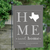 Personalized State Flag for Grandma - Home Sweet Home