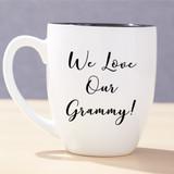 Bistro Mug for Grandma - White